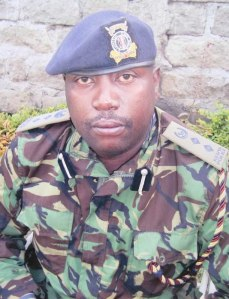 Fake police Joshua Waiganjo photo shows his perceived rank of deputy PPO