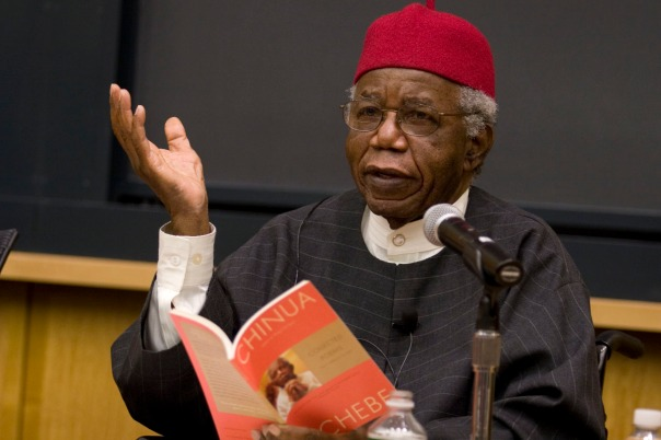 Novelist Chinua Achebe speaking about Things Fall Apart
