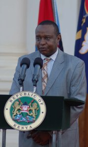 Cabinet Secretary nominee for Treasury Henry K Rotich at state house yesterday-photo/PPS