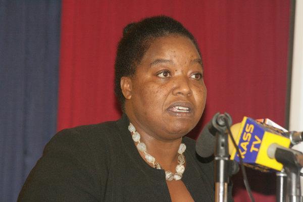 Interior Principal Secretary Monica Juma